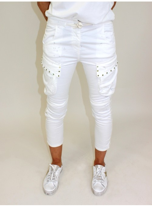 Pantalon Blanc Please