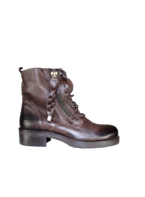Bottines rangers marron Ovyè