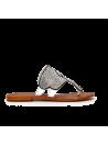 Sandales à strass blanches CAFèNOIR