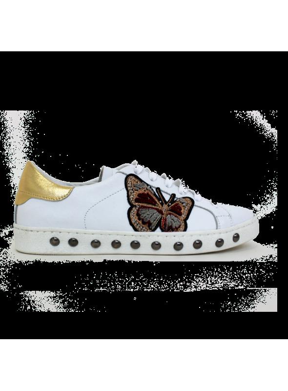 Sneakers Blanches Papillon Ovyé