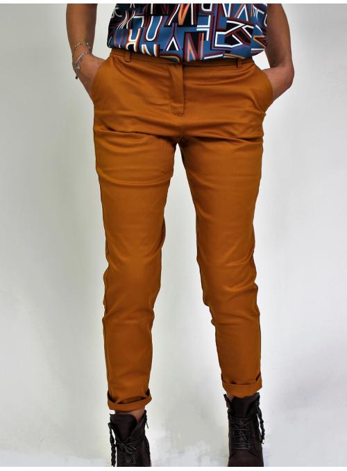 Pantalon Chino 7/8 Camel Vila