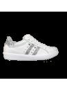 Sneakers Blanches Pailletées et cloutées Ovyé