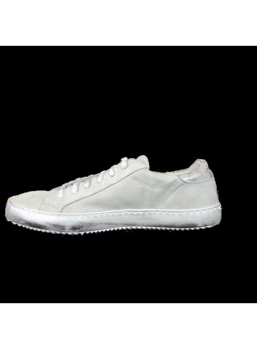 Sneakers Grises à étoile Argent Ovyé