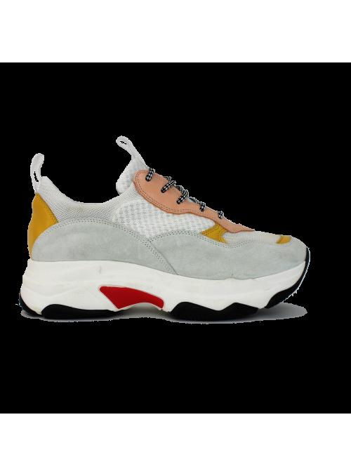 Sneakers à plateformes Combi Rosa Ovyé