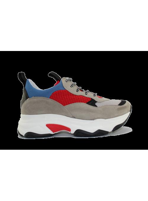 Sneakers à plateformes Combi Rosso Ovyé