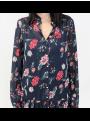 Robe longue à motifs fleuris Vila