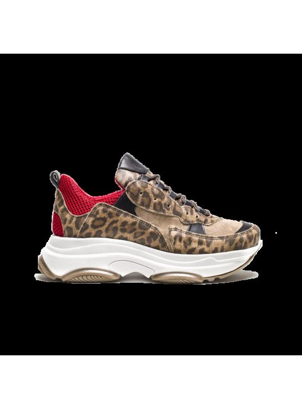 Sneakers à plateformes léopard Ovyé