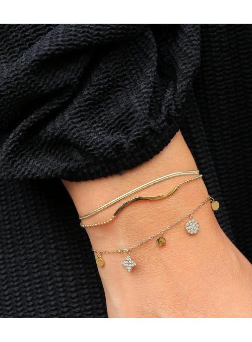 Bracelet Madison – Acier blanc