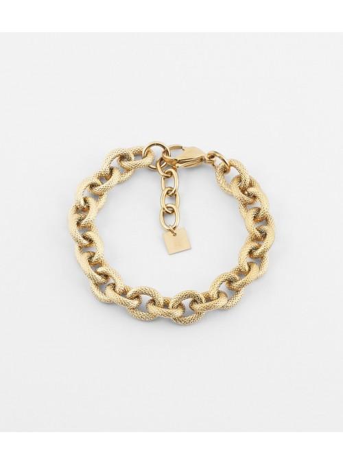 Bracelet Hermine – Acier doré